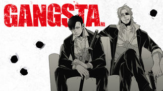 Netflix box art for Gangsta. - Season 1